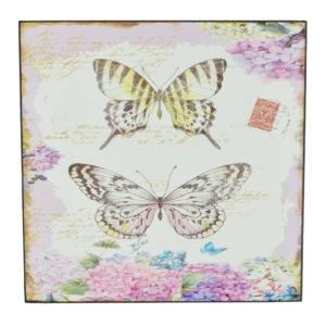 falikép, pillangós