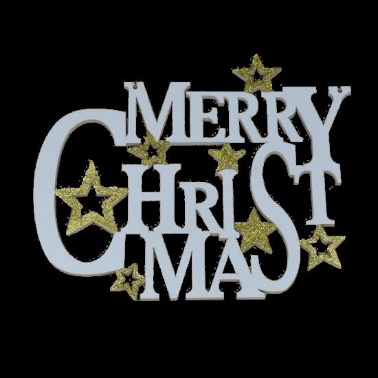 karácsonyi felirat