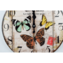 Kép 2/3 - Üvegóra - 30 cm - pillangós