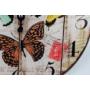 Kép 3/3 - Üvegóra - 30 cm - pillangós