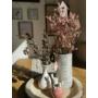 Kép 4/4 - Virágdísz leszúró - madárházikó - rózsa