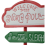 Kép 2/3 - útjelző tábla North Pole