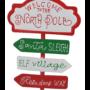 Kép 3/3 - útjelző tábla North Pole